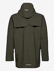 Weather Report - Erik M Dull PU Jacket W-PRO 5000 - płaszcze przeciwdeszczowe - forest night - 1
