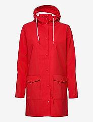 Tass W Dull PU Jacket W-PRO 5000 - CHINESE RED