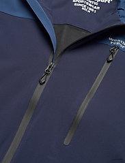 Weather Report - Delton M AWG Jacket W-PRO 15000 - regenjassen - navy blazer - 3