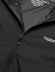 Weather Report - Morisee Unisex Packable AWG Jacket W-PRO 10000 - kurtki i płaszcze - black - 3