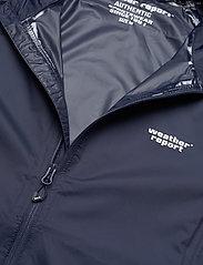 Weather Report - Morisee Unisex Packable AWG Jacket W-PRO 10000 - kurtki i płaszcze - navy blazer - 3