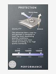 Weather Report - Morisee Unisex Packable AWG Pant W-PRO 10000 - regnbukser - black - 2