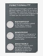 Weather Report - Morisee Unisex Packable AWG Pant W-PRO 10000 - regnbukser - black - 3