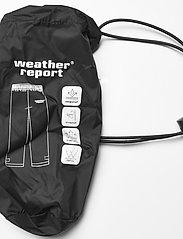 Weather Report - Morisee Unisex Packable AWG Pant W-PRO 10000 - regnbukser - black - 5