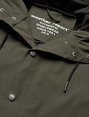 Weather Report - Erik M Dull PU Jacket W-PRO 5000 - płaszcze przeciwdeszczowe - forest night - 3