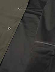 Weather Report - Erik M Dull PU Jacket W-PRO 5000 - płaszcze przeciwdeszczowe - forest night - 4