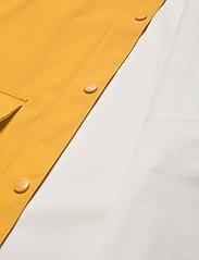 Weather Report - Tass W Dull PU Jacket W-PRO 5000 - manteaux de pluie - golden rod - 4