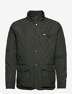 Fraser mens Jacket - gewatteerd jassen - dark green