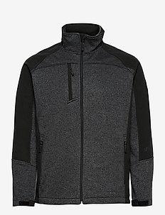 Jorg Mens softshell jkt - basic-sweatshirts - black