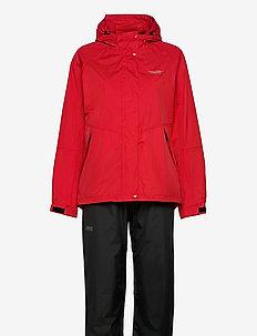 Carlene W AWG Rain Set W-PRO 10000 - manteaux de pluie - chinese red
