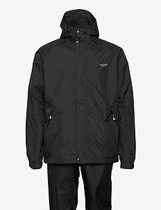 Jagger M AWG Rain Set W-PRO 10000 - waterproof trousers - black