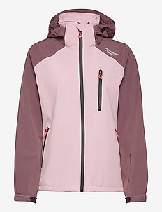 Camelia W AWG Jacket W-PRO 15000 - wandel- en regenjassen - dawn pink