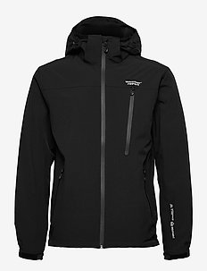 Delton M AWG Jacket W-PRO 15000 - regnjakker - black
