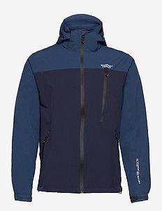 Delton M AWG Jacket W-PRO 15000 - regenjassen - navy blazer