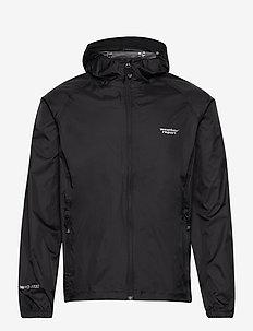 Morisee Unisex Packable AWG Jacket W-PRO 10000 - regenjassen - black