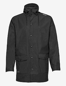 Erik M Dull PU Jacket W-PRO 5000 - regenjassen - black