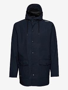 Erik M Dull PU Jacket W-PRO 5000 - regenjassen - navy blazer
