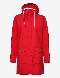 Tass W Dull PU Jacket W-PRO 5000 - manteaux de pluie - chinese red