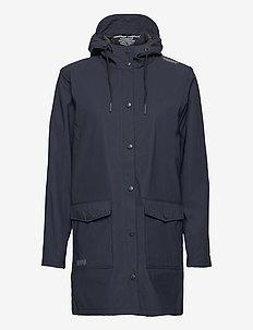 Tass W Dull PU Jacket W-PRO 5000 - manteaux de pluie - navy blazer