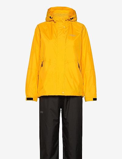 Carlene W AWG Rain Set W-PRO 10000 - płaszcze przeciwdeszczowe - golden rod