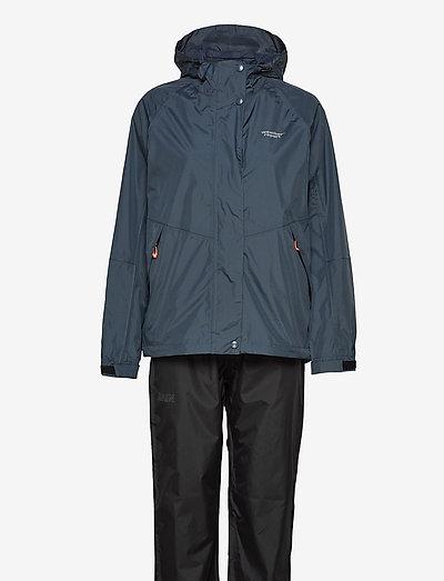 Carlene W AWG Rain Set W-PRO 10000 - płaszcze przeciwdeszczowe - midnight navy