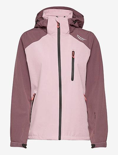 Camelia W AWG Jacket W-PRO 15000 - kurtki turystyczne - dawn pink