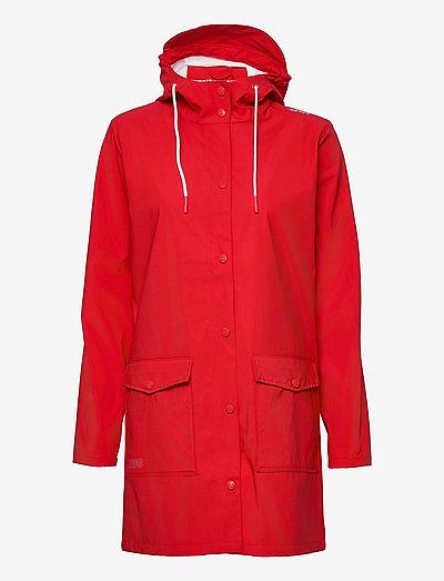 Tass W Dull PU Jacket W-PRO 5000 - płaszcze przeciwdeszczowe - chinese red