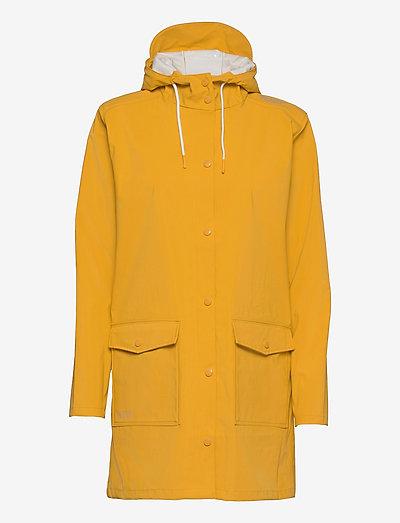 Tass W Dull PU Jacket W-PRO 5000 - płaszcze przeciwdeszczowe - golden rod