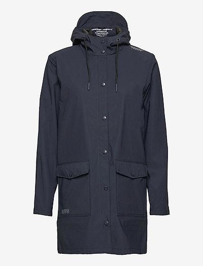 Tass W Dull PU Jacket W-PRO 5000 - płaszcze przeciwdeszczowe - navy blazer
