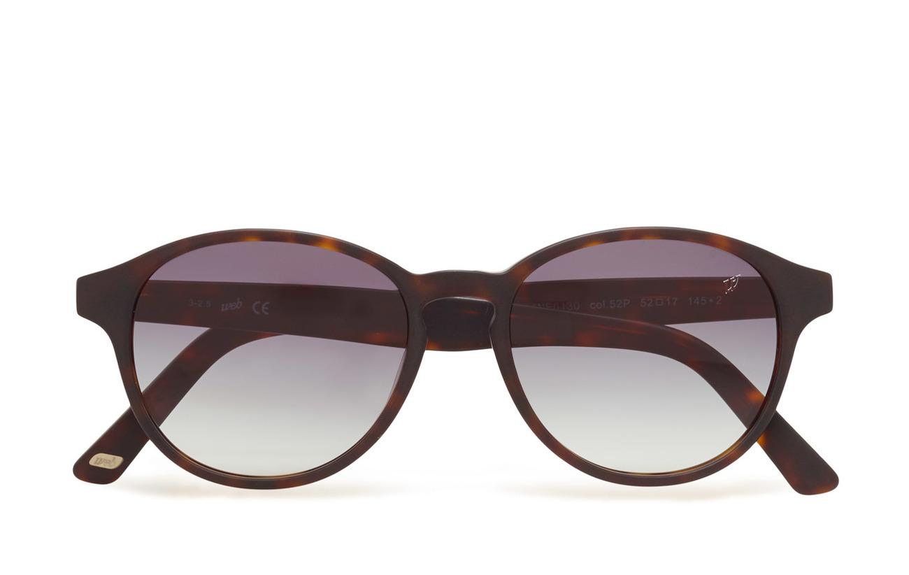 Web Eyewear WE0130 - 52P - DARK HAVANA / GRADIENT GREEN