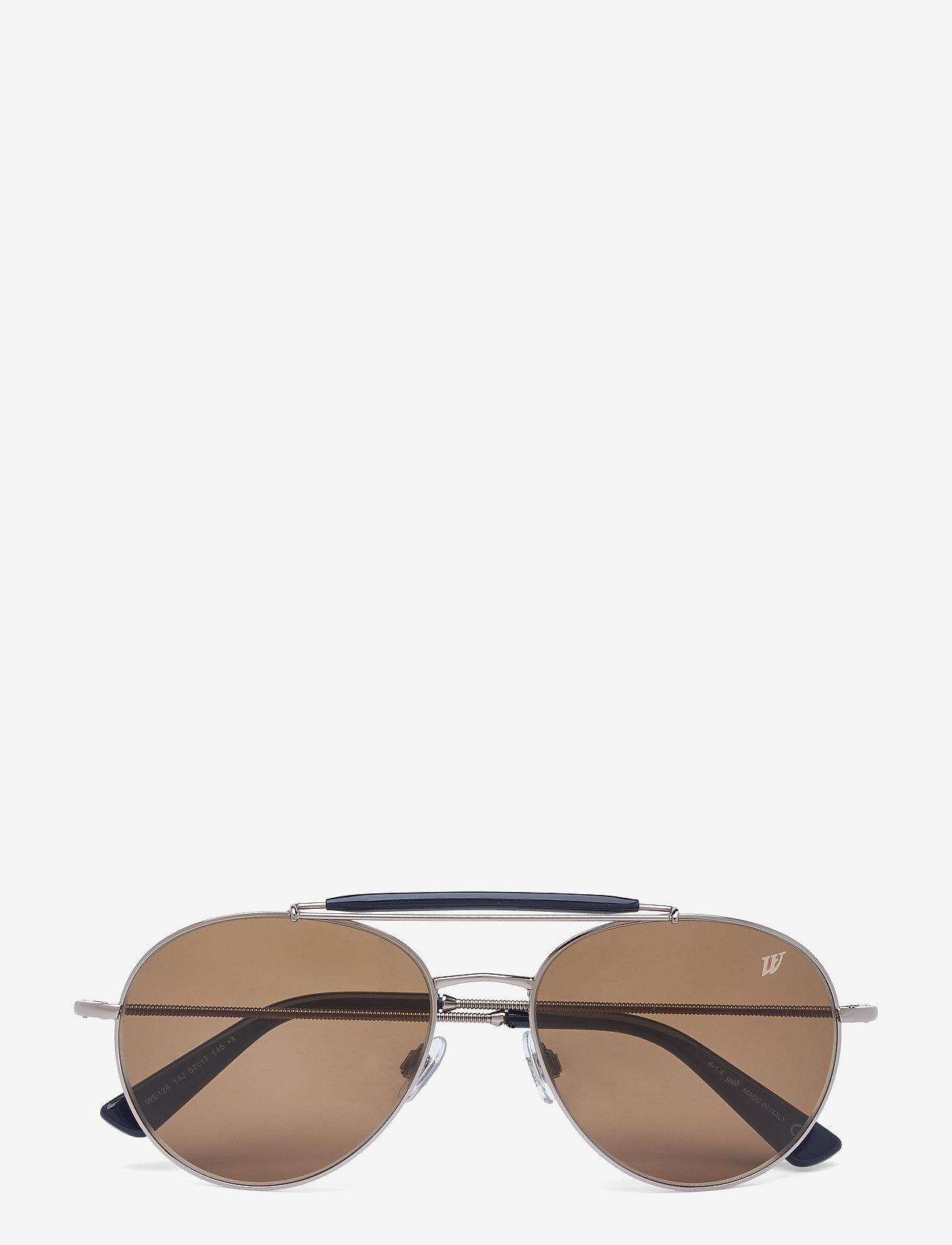 Web Eyewear - WE0126 - aviatora stila - 14j -shiny light ruthenium / roviex - 0