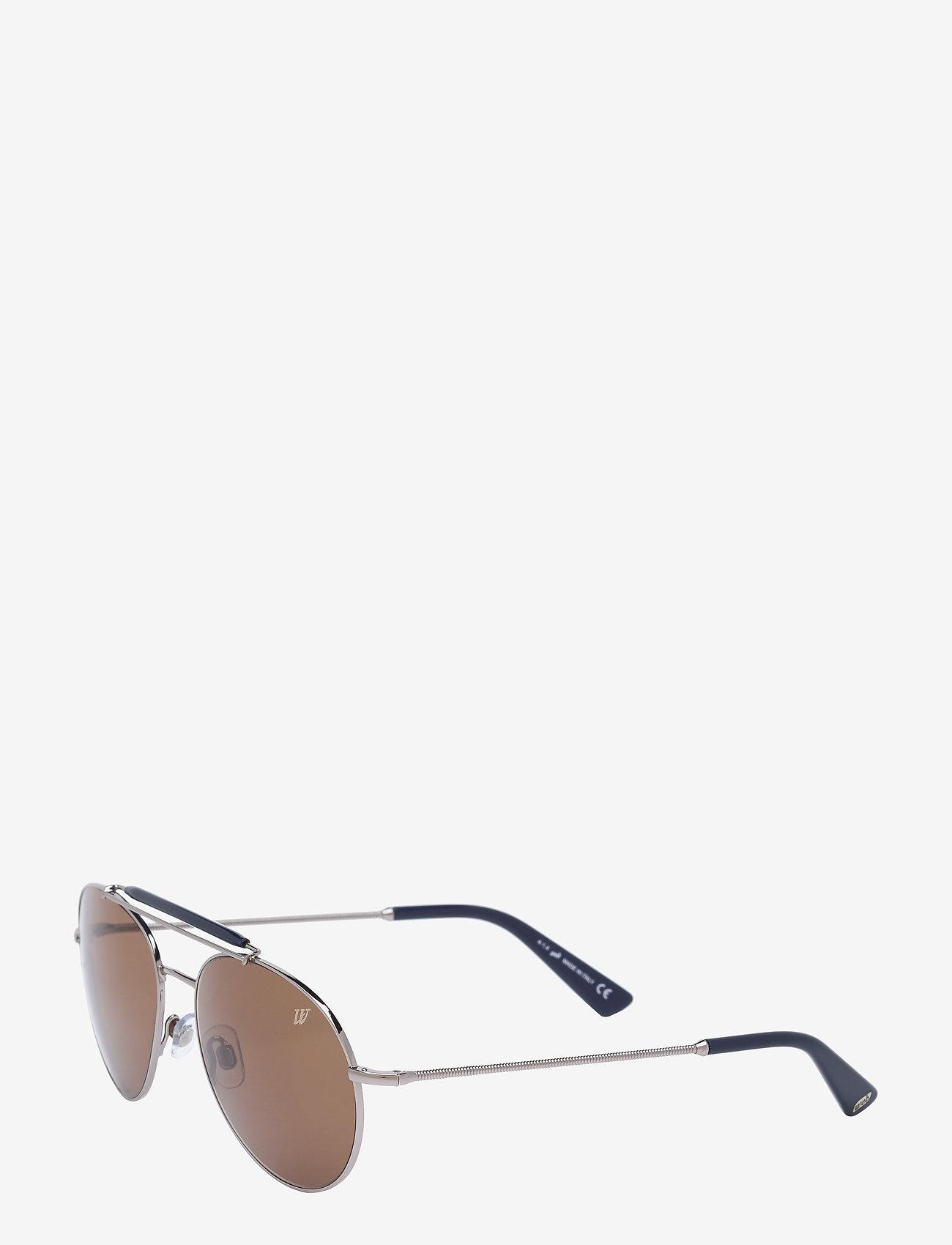 Web Eyewear - WE0126 - aviatora stila - 14j -shiny light ruthenium / roviex - 1