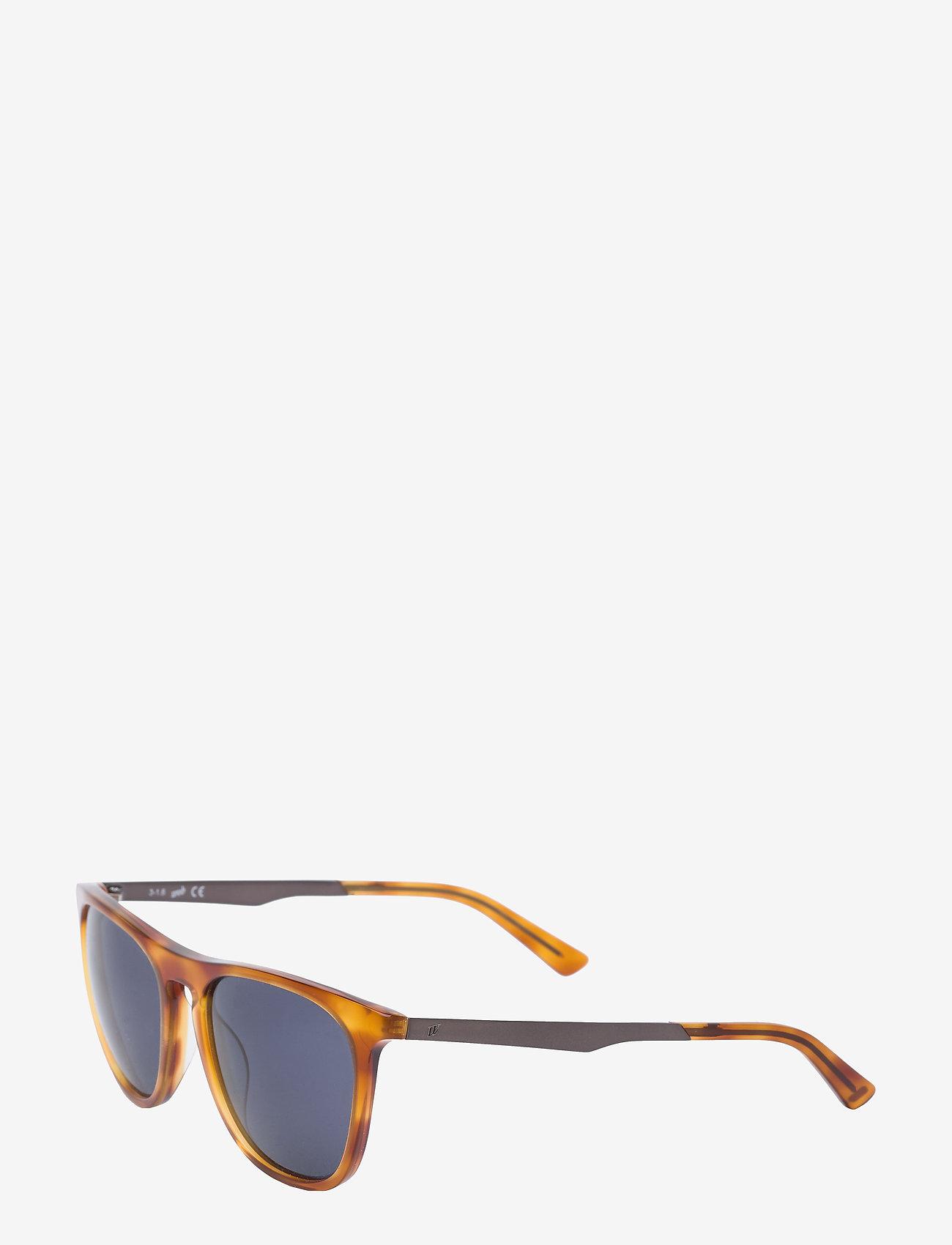 Web Eyewear - WE0154 - okulary przeciwsłoneczne w kształcie litery d - 53p -blonde havana / gradient green - 1