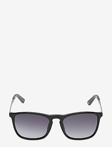 WE0154 - d-shaped - 01b -shiny black / gradient smoke