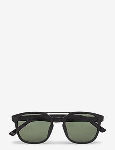 WE0156 - d-shaped - 02n -matte black / green