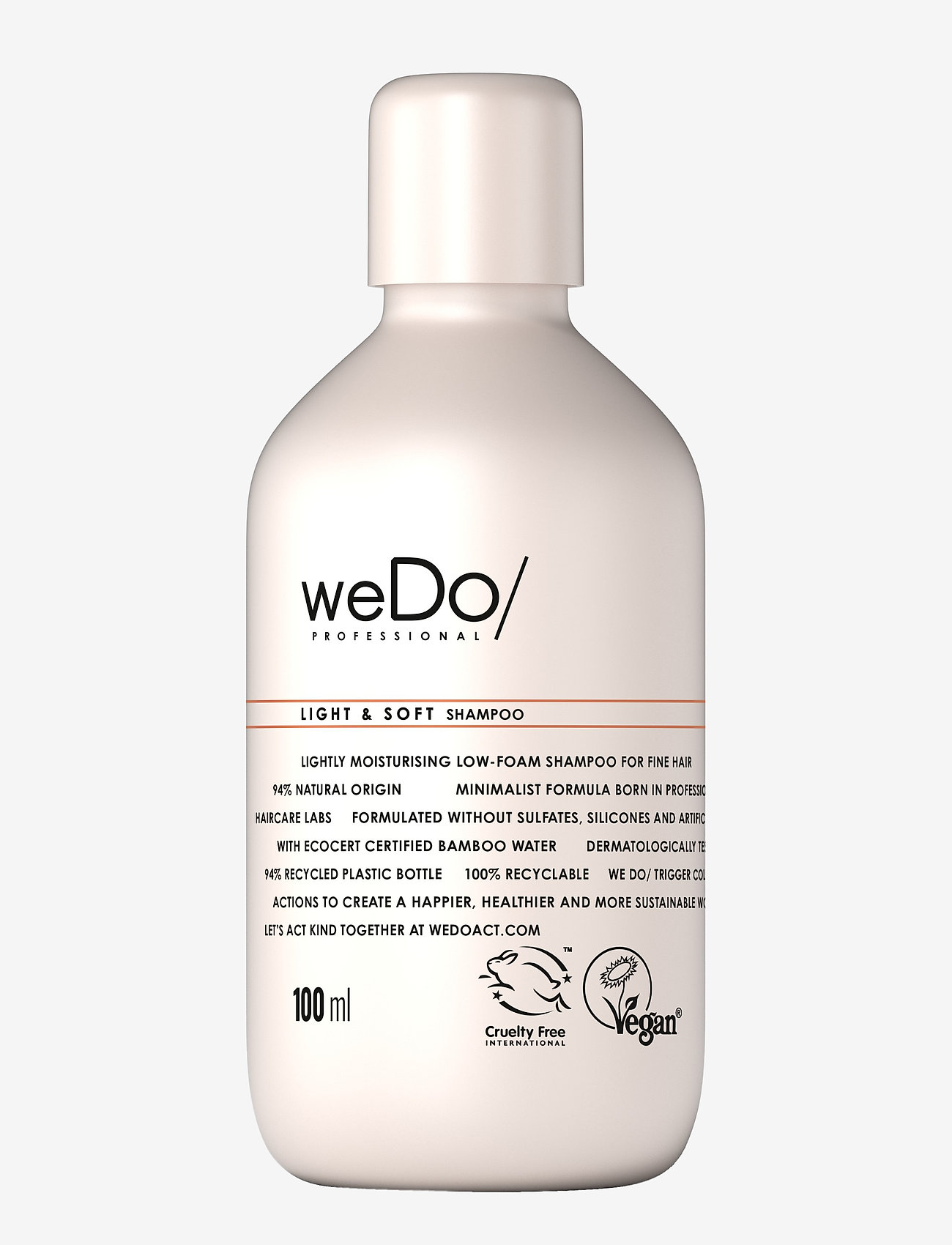 weDo Professional - weDo Professional Light & Soft Shampoo 100ml - shampoo - no colour - 0