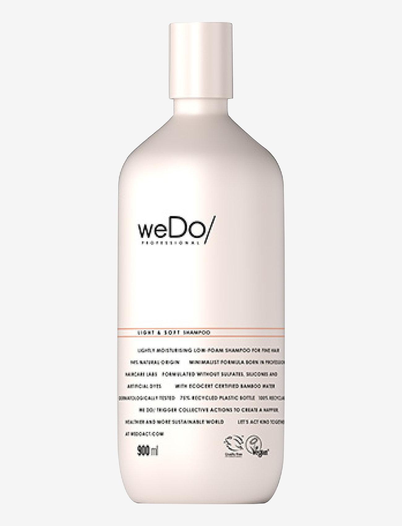 weDo Professional - weDo Professional Light & Soft Shampoo 900ml - shampoo - no colour - 0