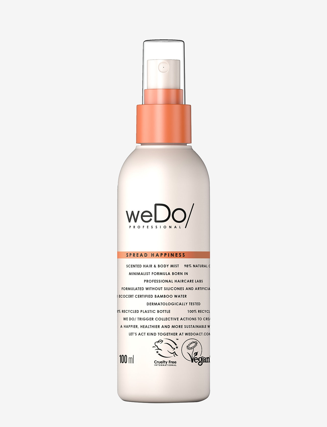 weDo Professional - weDo Professional Spread Happiness Hair & Body Mist 100ml - hair mist - no colour - 0