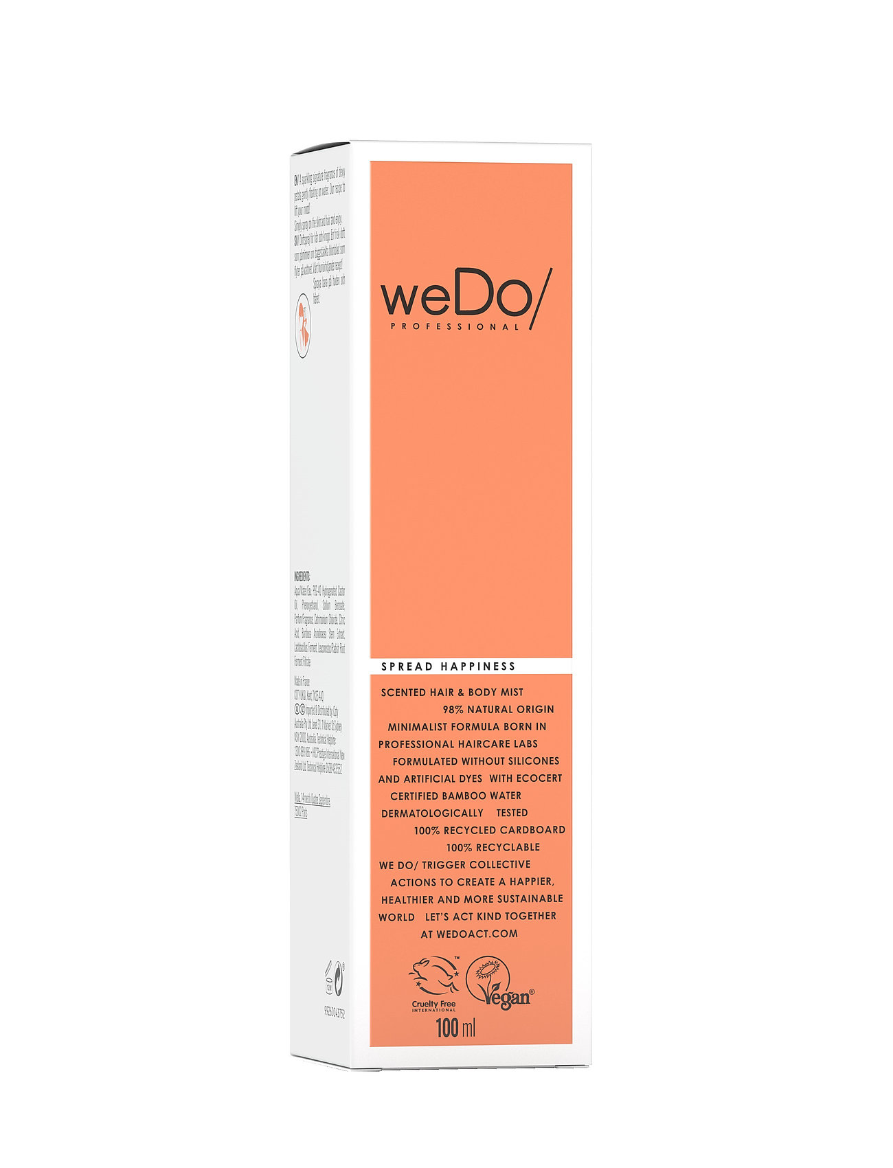 weDo Professional - weDo Professional Spread Happiness Hair & Body Mist 100ml - hair mist - no colour - 1