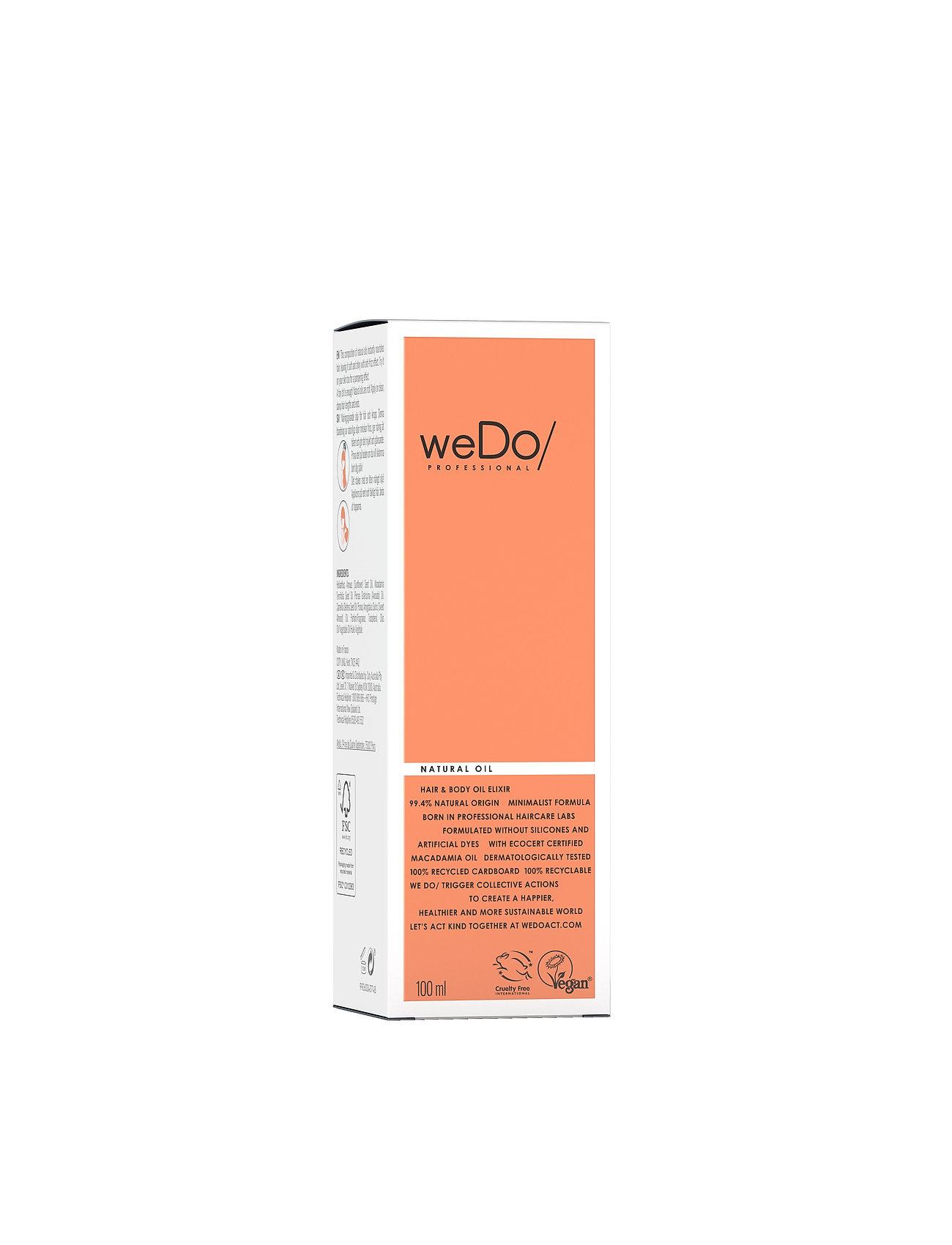 weDo Professional - weDo Professional Natural Hair & Body Oil Elixir 100ml - håroljor - no colour - 1