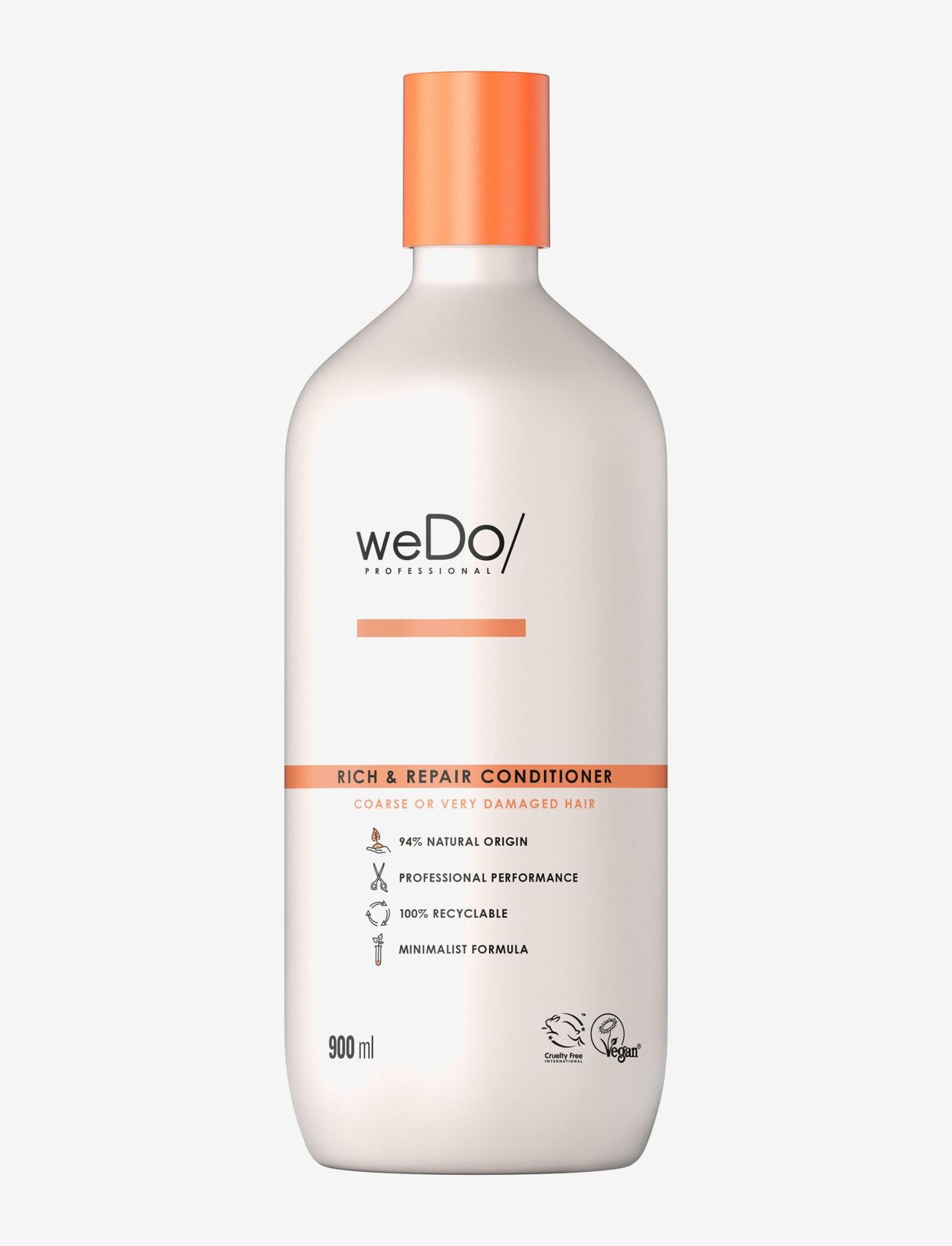 weDo Professional - weDo Professional Rich & Repair Conditioner 900ml - hårmasker - no colour - 0