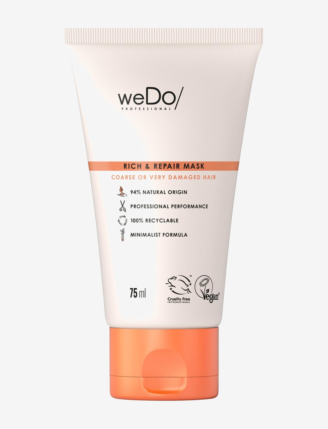 weDo Professional - weDo Professional Rich & Repair Mask 75ml - hårmasker - no colour - 0