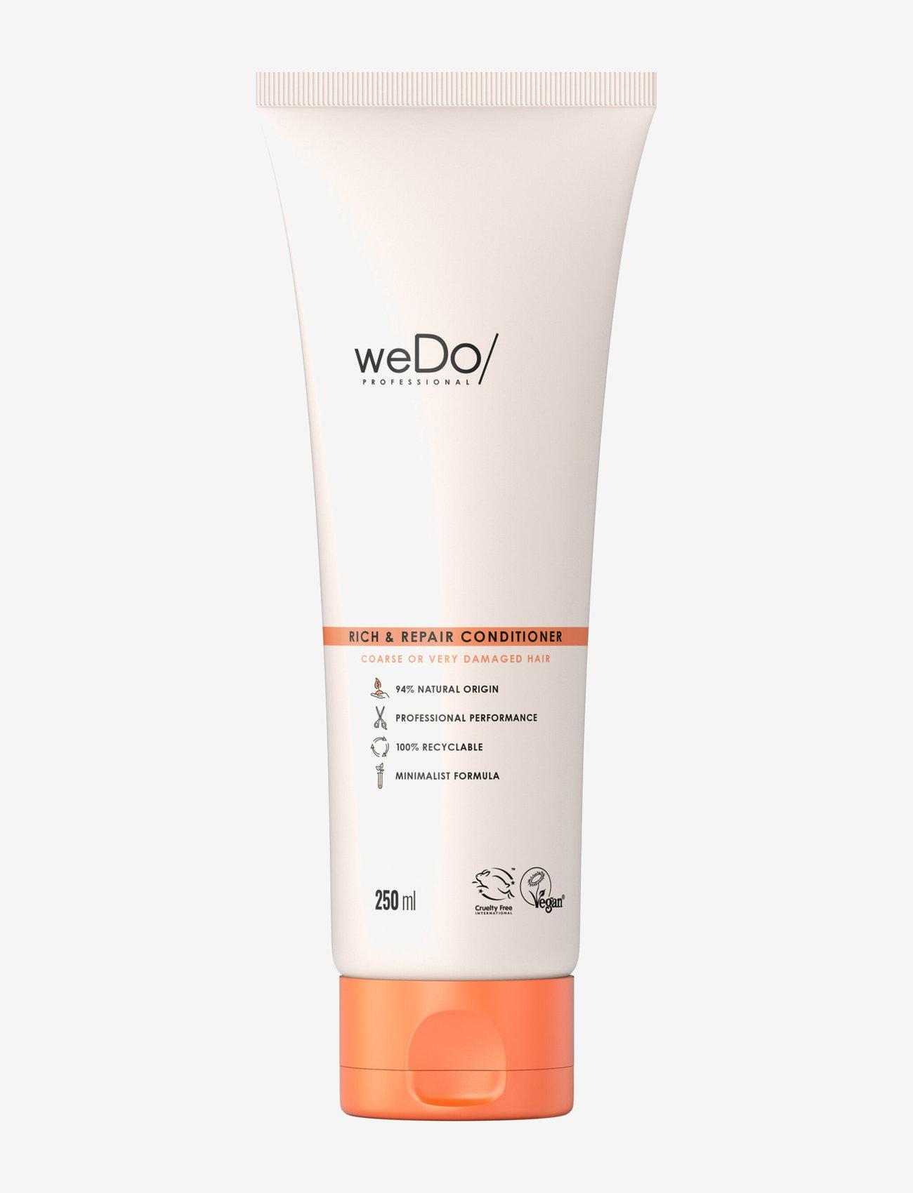 weDo Professional - weDo Professional Rich & Repair Conditioner 250ml - hårmasker - no colour - 0