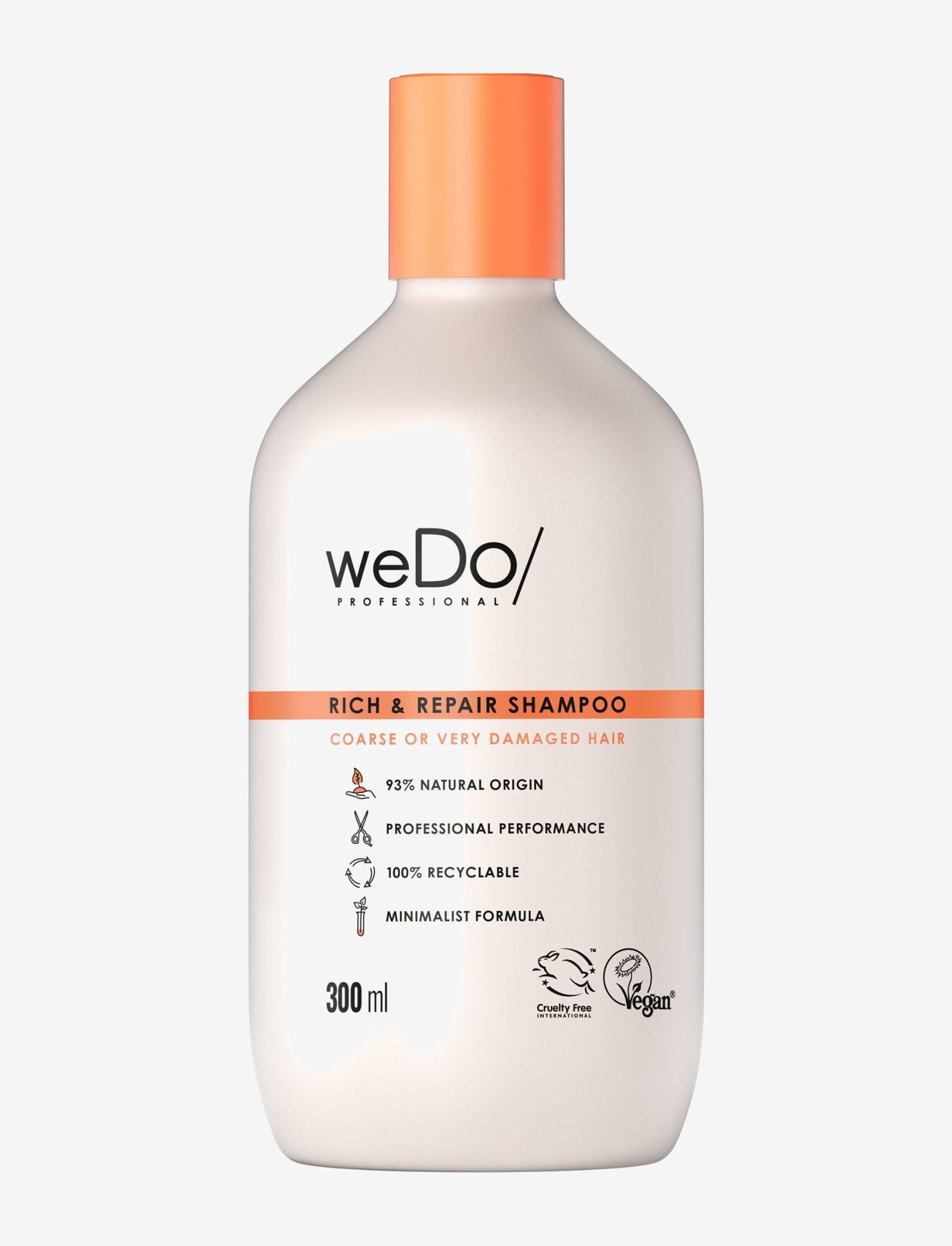 weDo Professional - weDo Professional Rich & Repair shampoo 300ml - shampoo - no colour - 0