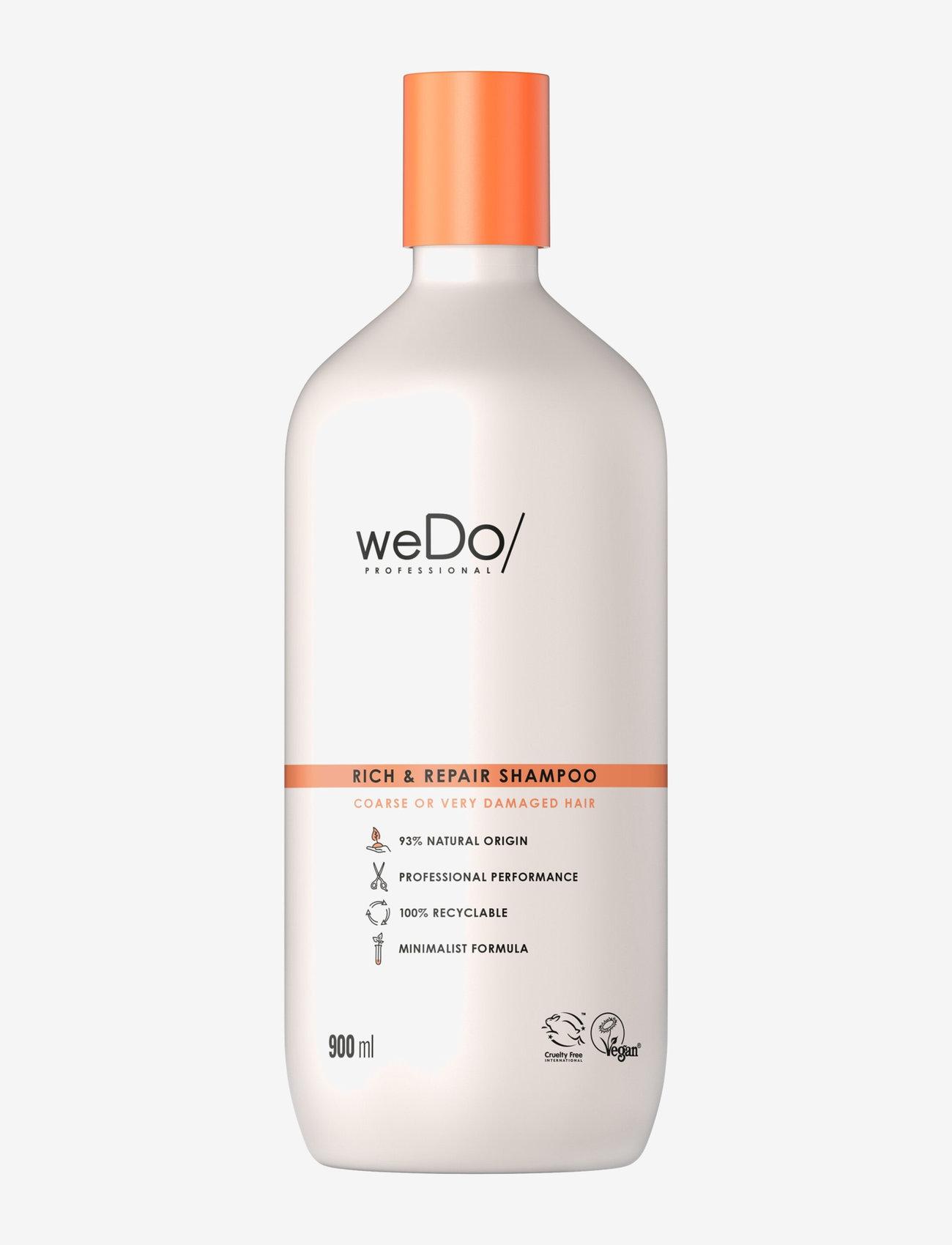 weDo Professional - weDo Professional Rich & Repair shampoo 900ml - shampoo - no colour - 0