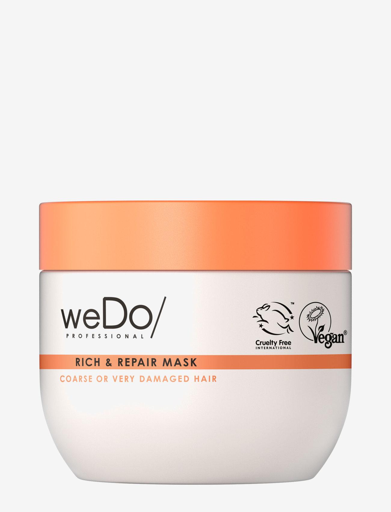 weDo Professional - weDo Professional Rich & Repair Mask 400ml - hårmasker - no colour - 0