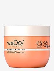 weDo Professional - weDo Professional Moisture & Shine Hair Mask 400ml - hårmasker - no colour - 0