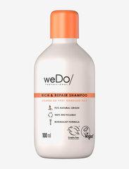 weDo Professional Rich & Repair shampoo 100ml - NO COLOUR