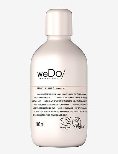 weDo Professional Light & Soft Shampoo 100ml - shampoo - no colour