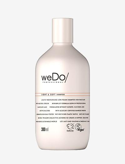 weDo Professional Light & Soft Shampoo 300ml - shampoo - no colour